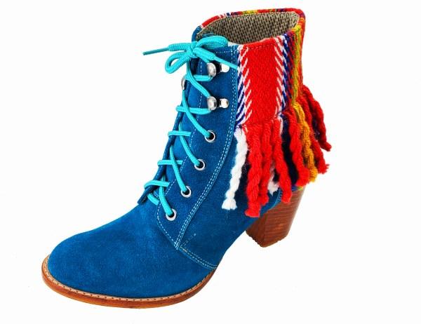 leather cuir boot botte Étchiboy
