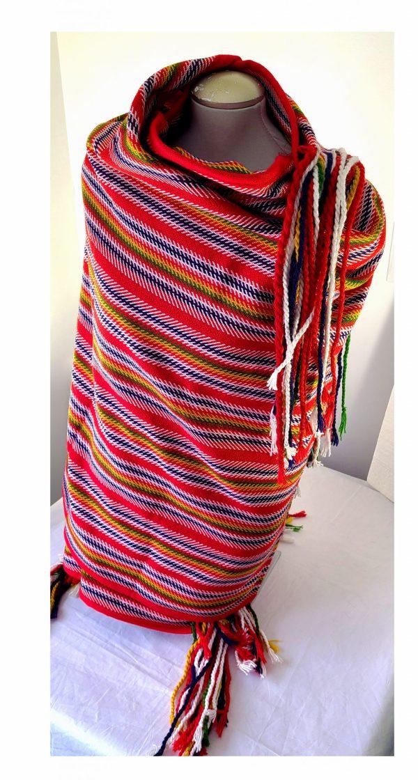 Louis Riel Blanket Couverte Shawl Étchiboy
