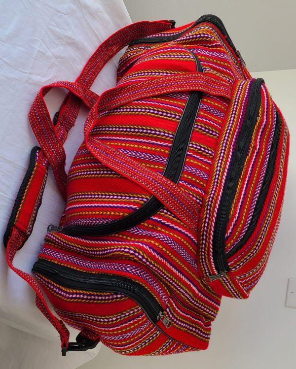 One of A Kind Gym Bag Grand Sac de Voyage Carnaval Alpaga 1