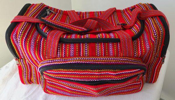 One of A Kind Gym Bag Grand Sac de Voyage Carnaval Alpaga 6