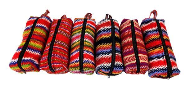 One Zipper Pencil Case Toiletry Bag Prairie Étuis à Crayons Sac de Toilette Une Fermeture 2