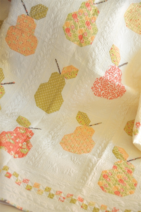 Canned Pears Quilt Kit