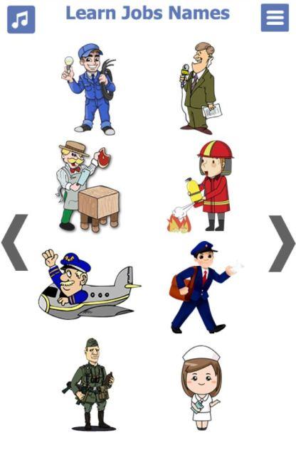 Jobs in English (5)