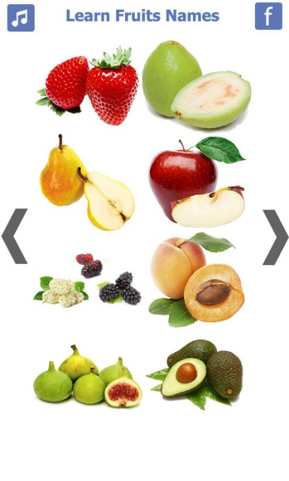 Learn Fruits Name (2)