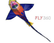Blue shark kite -Single line kite - fly360 kite store