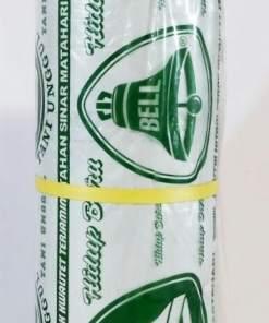 plastik mulsa cap bell hijau