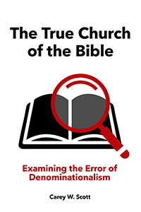 The True Church of the Bible (cover)