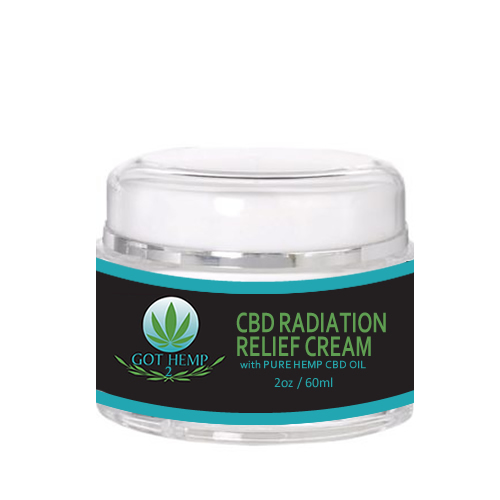 Got Hemp 2 - CBD Store - Duluth GA - CBD Radiation Relief Cream