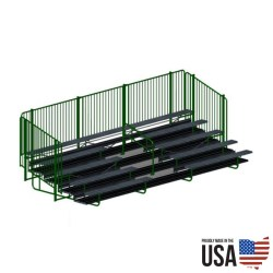 Signature Series Deluxe Bleacher Package - 5 Rows, 27 ft