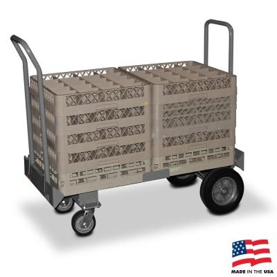 American Cart Dish Cart - 2 stack capacity