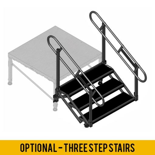 2 Step Stage Stair