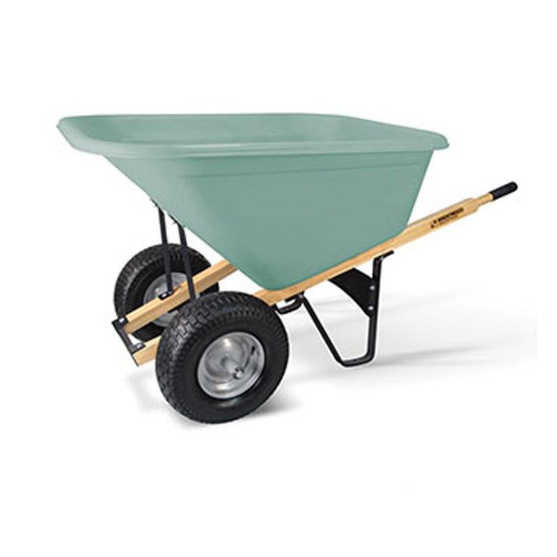 Brentwood Heavy Duty Wheelbarrow 10 Cu Ft