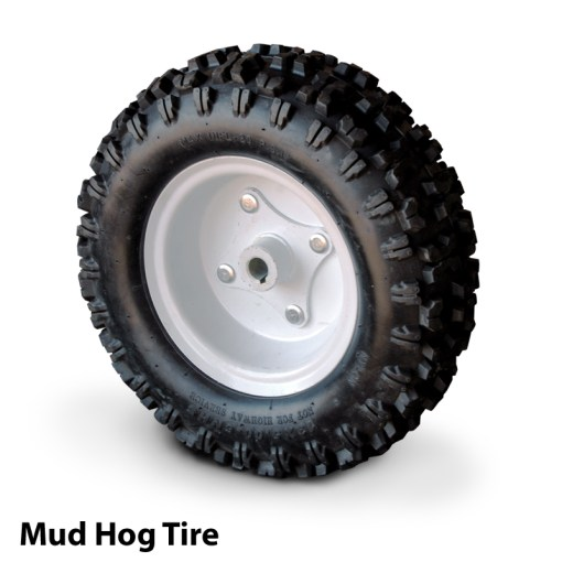 Overland Mud Hog Tire for Powered Carts