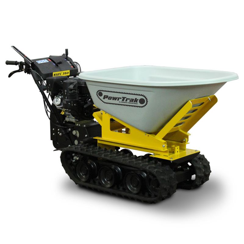 Granite powertrak 750 gas powered wheelbarrow for Motorized wheelbarrows for sale