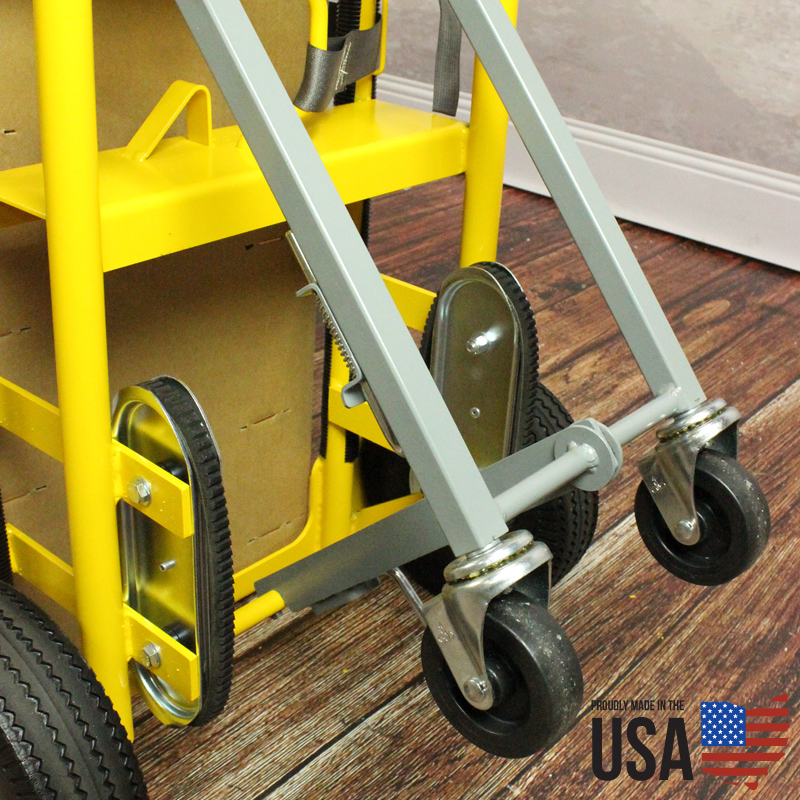Titan Appliance Cart With Rear Wheels