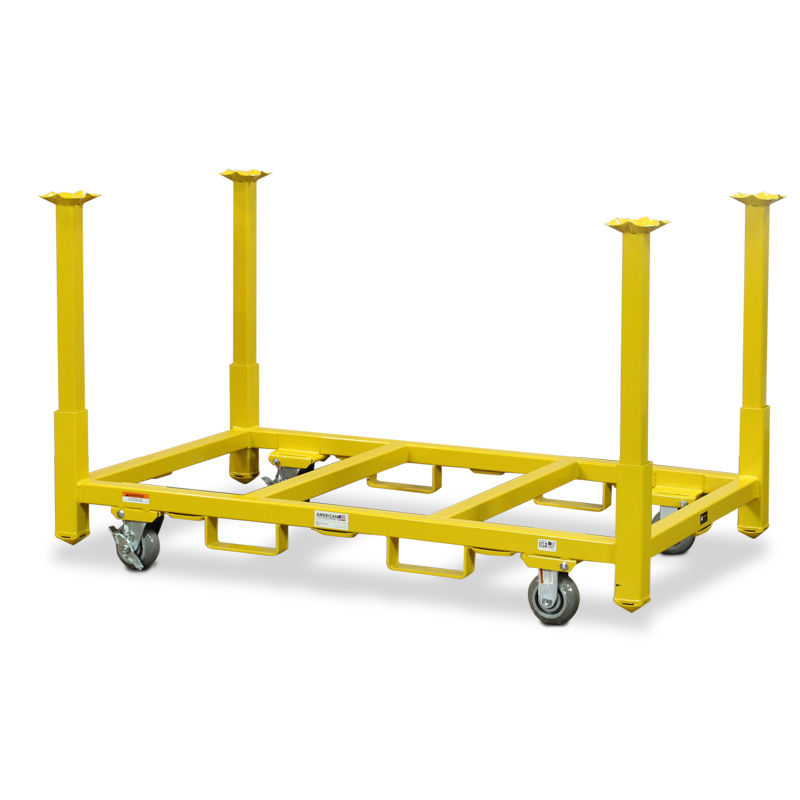 american cart table storage cart with 33 legs