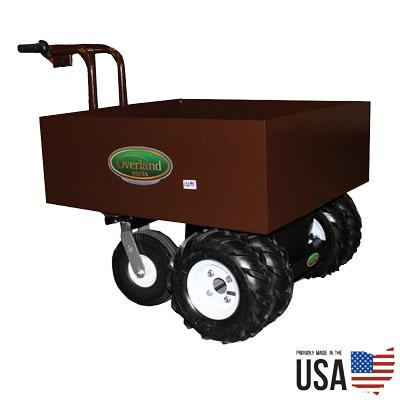 Overland Electric Power Wagon – 7.5 Cu. Ft. Metal Hopper