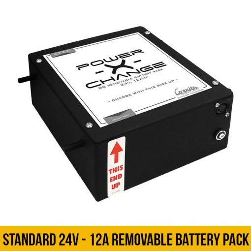 Overland Standard 24v 12A Battery