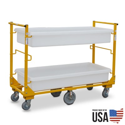 American Cart 6 Wheel Utility Cart