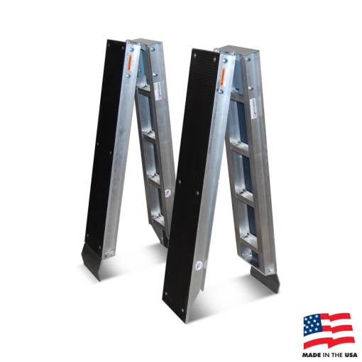 American Cart Aluminum Folding Ramps (Pair)