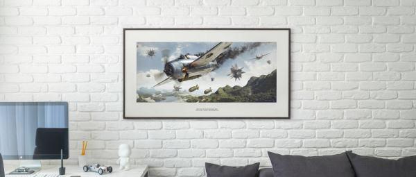 Battle of Philippine Sea - Artwork - Large Print Unframed image 3 on GreatBritishMotorShows.com