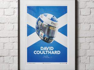 David Coulthard - Helmet - 2000 - Poster image 2 on GreatBritishMotorShows.com