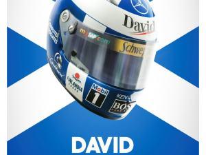 David Coulthard - Helmet - 2000 - Poster image 1 on GreatBritishMotorShows.com