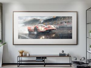 Hollywood Ending - Artwork - Large Print Unframed image 1 on GreatBritishMotorShows.com