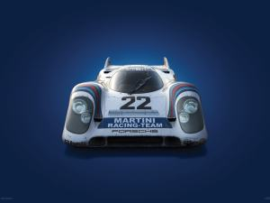 Porsche 917 - Martini - 24h Le Mans - 1971 - Colors of Speed Poster image 1 on GreatBritishMotorShows.com