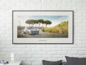 Racing Sport Redefined - Artwork - Large Print Unframed image 2 on GreatBritishMotorShows.com