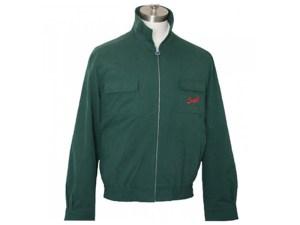 Suixtil Monaco Hawthorn Green Jacket Front View