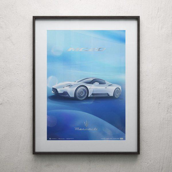 Maserati Corse 2020 | MC20 Side | Collector's Edition image 2 on GreatBritishMotorShows.com