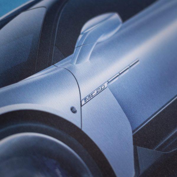 Maserati Corse 2020 | MC20 Side | Collector's Edition image 6 on GreatBritishMotorShows.com