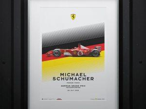 Ferrari F2002 - Michael Schumacher - German Grand Prix - 2002 | Limited Edition image 2 on GreatBritishMotorShows.com