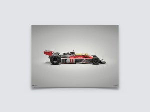 McLaren M23 - James Hunt - Japanese GP - 1976 - Colors of Speed Poster