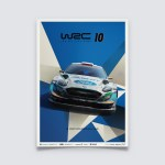 WRC 10 - FORD - THE OFFICIAL GAME COVER   LIMITED EDITION