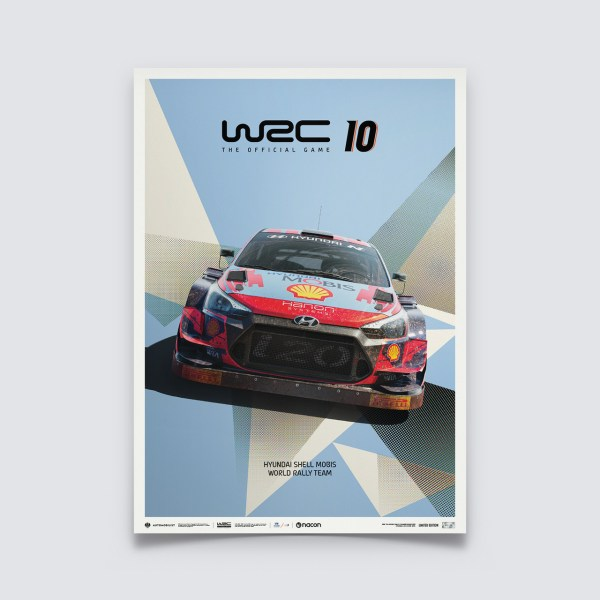WRC 10 - HYUNDAI - THE OFFICIAL GAME COVER | LIMITED EDITION