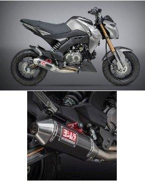 14120ab250 yoshimura race rs 2 full exhaust system 17 18 kawasaki z125 pro