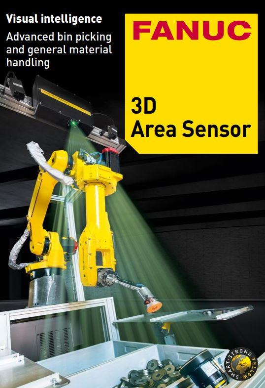 FANUC 3D Area Sensor for Bin Picking (IP65) - HART Online Store