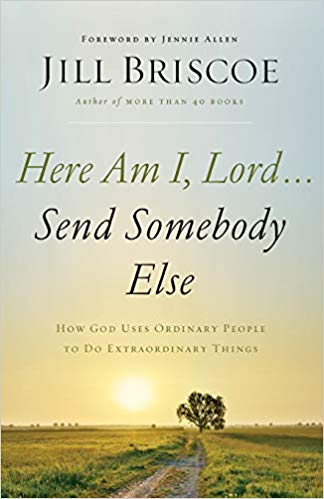 here am i lord send somebody else book cover