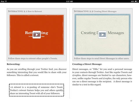 Twitter for Teachers iBook screenshot
