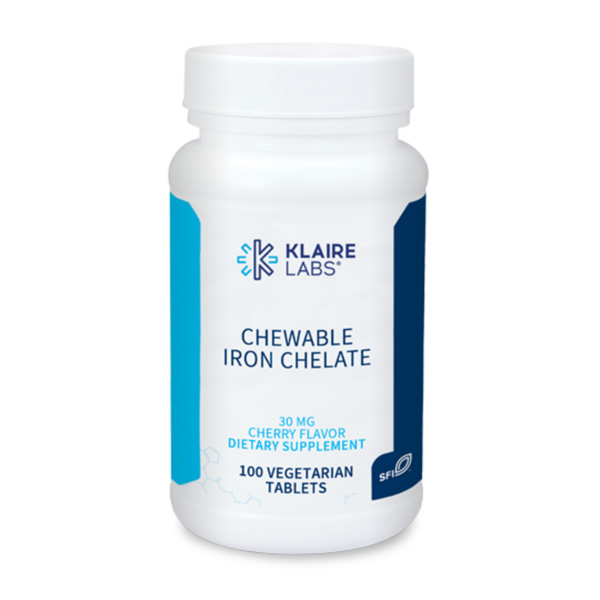 Chewable Iron Chelate