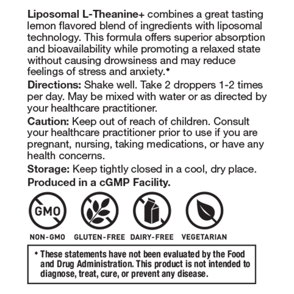 Liposomal L-Theanine Liquid