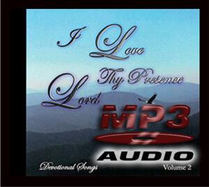I Love Thy Presence Lord - Vol. 2 - Full CD Download-0