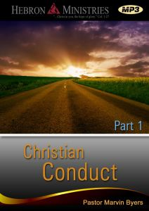Christian Conduct Series Part 1 – 2012 – MP3-0