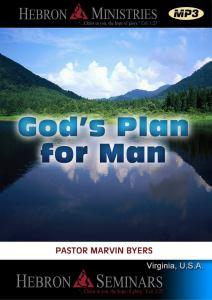 God's Plan for Man - VA Seminar - MP3-0