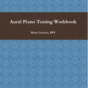 Aural Piano Tuning Workbook - Cover