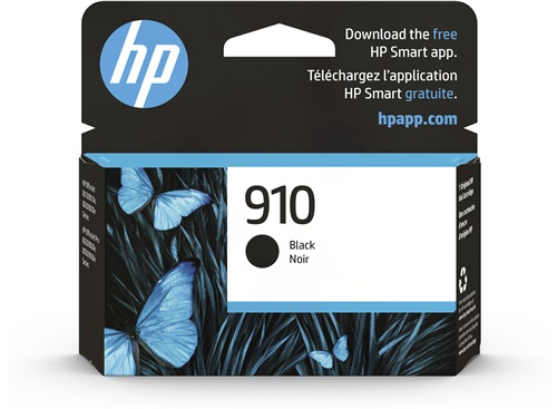 HP 910 Black Original Ink Cartridge (3YL61AN) - HP Store ...