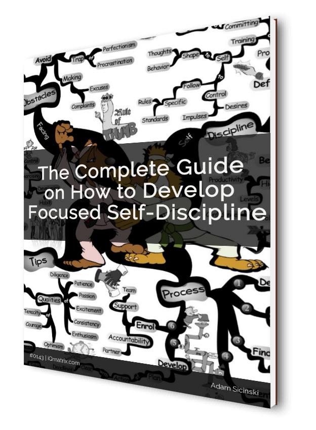 Developing Self-Discipline eBook
