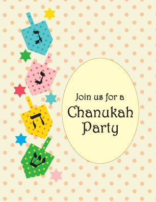 Download Chanukah Party Invitations